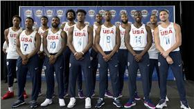 美國男籃夢幻隊,奧運(ap)