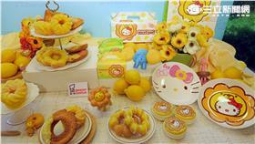 Mister Donut夏日推出「檸檬季」主題。(圖/記者簡佑庭攝影)