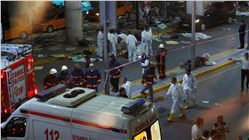 土耳其,阿塔圖克國際機場,炸彈攻擊,圖/路透社/達志影像