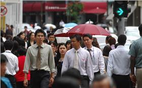 職場,都市,人群,上班族 換日線劉國泰攝影