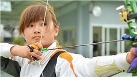 里約奧運中華射箭隊林詩嘉(圖/統一獅提供)