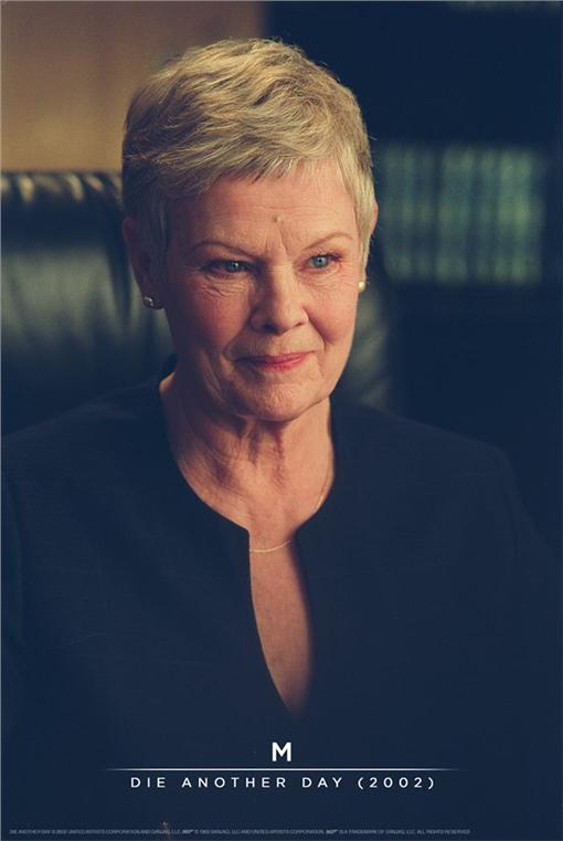 007 M夫人 茱蒂丹契(圖\SPECTRE臉書)