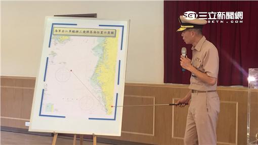 海軍司令部記者會 誤射雄風飛彈 記者盧冠妃攝
