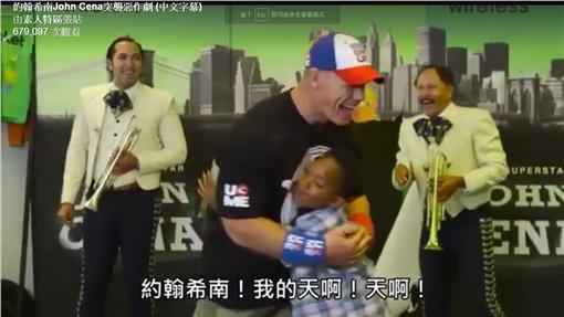 搞笑,影片,約翰希南,整人,惡作劇,粉絲,音樂,John Cena(FB https://www.facebook.com/6jav.fan/videos/1718076915125732/)
