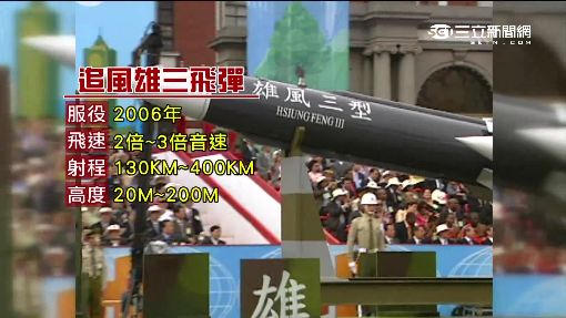 """海軍誤射""""雄三飛彈"""" 威力足以摧毀航母"""