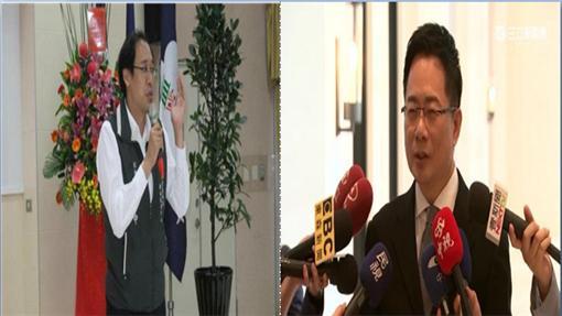 ▲左為楊偉中,右為蔡正元(組圖/資料照&臉書)