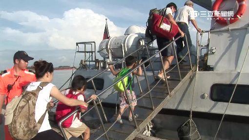 險!觀光船沒開航 百人逃過飛彈死劫
