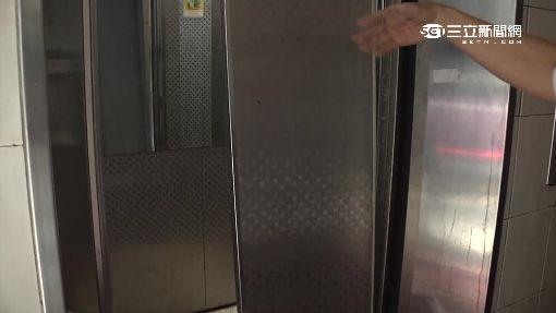 """電梯門板別重擊 門腳脫軌""""一碰就開"""""""