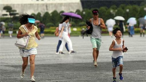 大雨,雨,天氣,氣象(中央社)