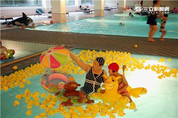 太魯閣晶英酒店暑期親子活動。(圖/記者簡佑庭攝影)