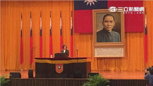▲總統蔡英文南下出席三軍五校畢業典禮(圖/盧冠妃攝)