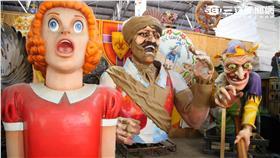 紐奧良嘉年華Mardi Gras World工廠巡禮。(圖/記者簡佑庭攝影)