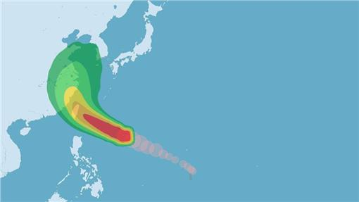 尼伯特颱風(圖/中央氣象局)