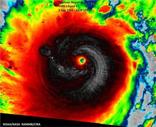 尼伯特颱風美國國家海洋暨大氣總署(NOAA)