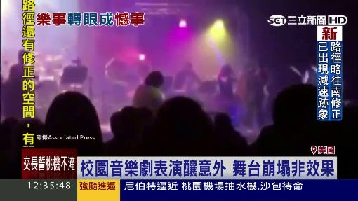 堆高機上熱舞! 樂極生悲8人墜地受傷