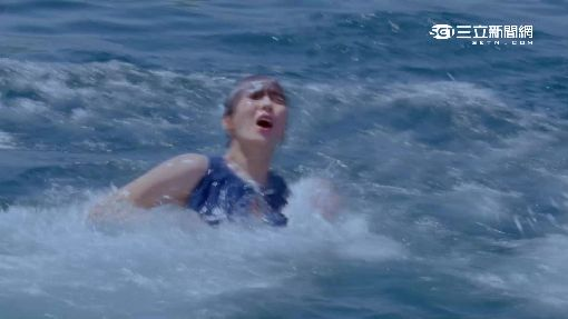 王傳一濕身英雄救美 魏蔓拍溺水戲狂哭