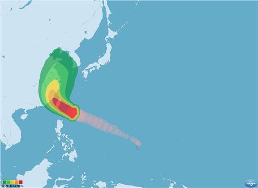 0707強颱尼伯特 中央氣象局