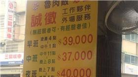滷肉飯,薪水,薪資(圖/翻攝自爆廢公社臉書)