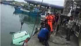 後壁湖,漁港,客車,墜落,乘客,潛水員,暴衝,意外