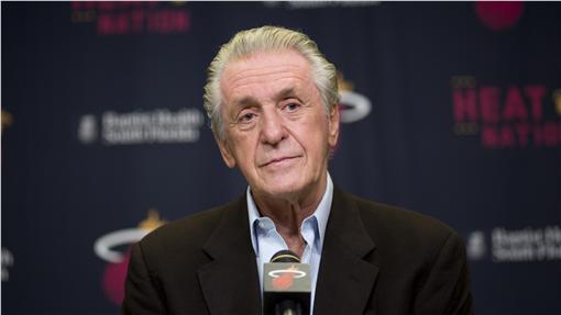 Pat Riley,NBA(圖/美聯社/達志影像)
