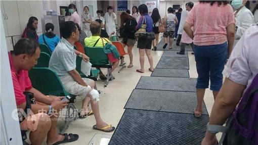 颱風發威  台東69傷爆滿醫院