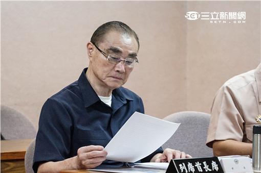 國防部長馮世寬 記者林敬旻攝