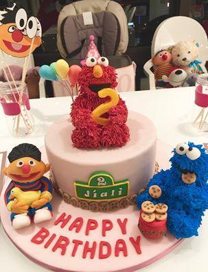 王力宏,王靚蕾,翻糖蛋糕(翻攝王力宏臉書)