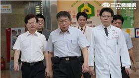 柯文哲 三軍總醫院 台鐵爆炸 傷者