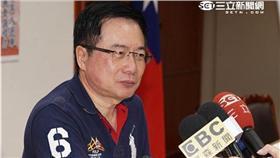 蔡正元、國民黨立院黨團總召二次選舉,廖國棟勝出。(圖/記者林敬旻攝)