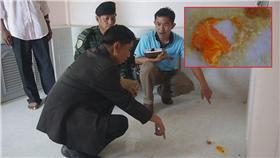 溫泉,地板,漏電,打蛋(圖/翻攝自泰叻報) http://www.thairath.co.th/content/658334