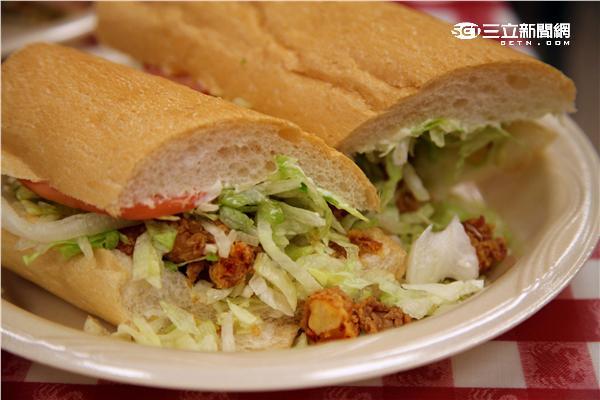美國紐奧良美食。(圖/記者簡佑庭攝影)
