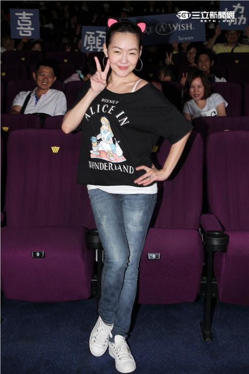 徐熙娣 (小S)出席電影「海底總動員2多莉去哪兒」慈善特映活動。(記者邱榮吉/攝影)