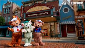 香港迪士尼全新Duffy主題商店。(圖/香港迪士尼提供)