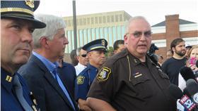 警察,法院,密西根州,槍擊,竊盜 圖/美聯社/達志影像