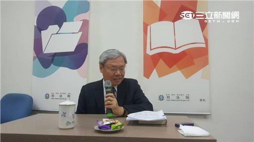 司法院副院長蘇永欽。潘千詩攝影