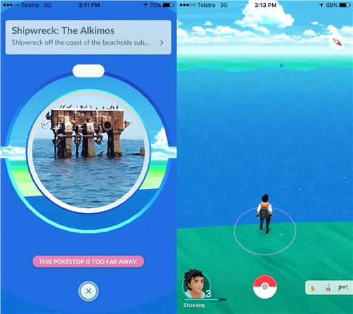 國外網友玩pokemon go 圖/翻攝自reddit