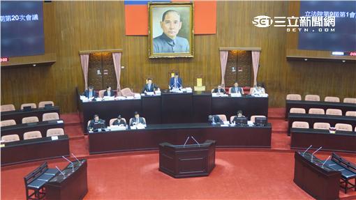 立法院院會。(記者盧素梅攝)