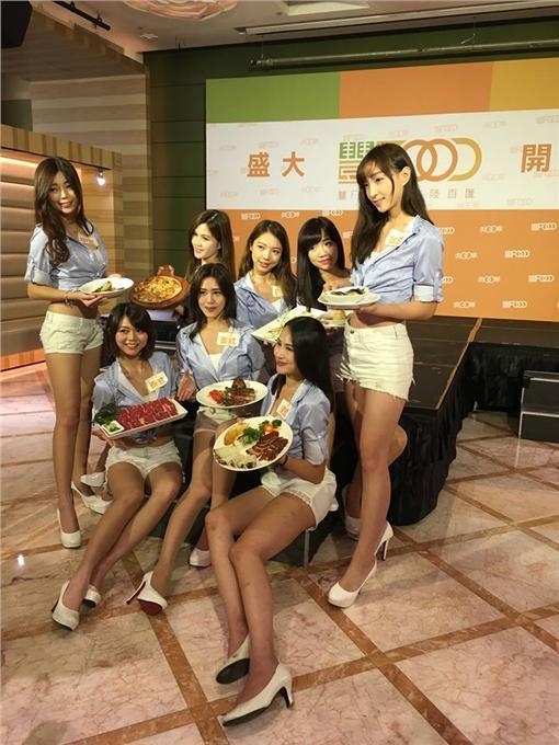 北市最大自助餐廳豐FOOD開賣!全台最大品花苑迎戰