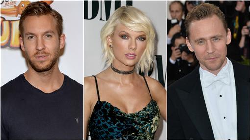 Tom Hiddleston,Taylor Swift,泰勒絲,凱文哈里斯,Calvin Harris,洛基,湯姆希德斯頓/達志影像/美聯社