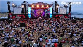 貢寮海洋音樂祭。(圖/新北市觀光局提供)