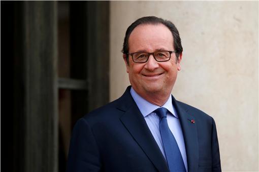 法國總統,歐蘭德(圖/路透社/達志影像)