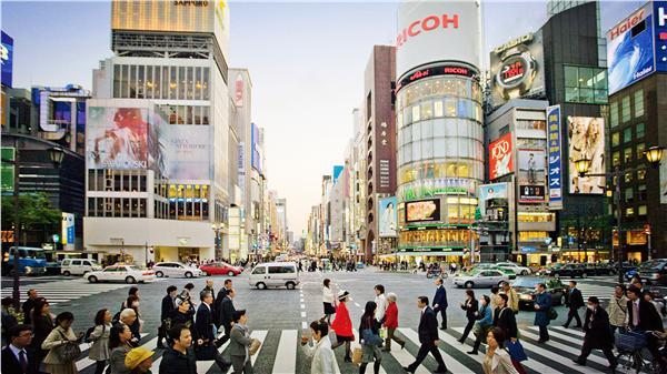 日本街景(圖/翻攝自Twitter)