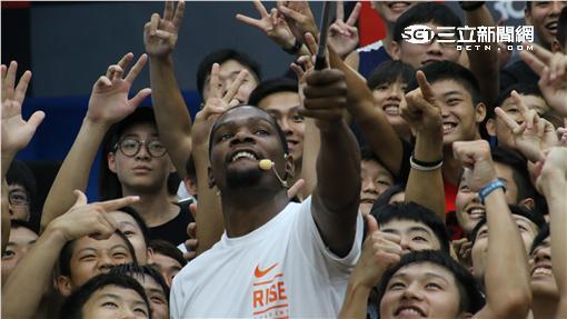Kevin Durant(圖/記者劉家維攝)