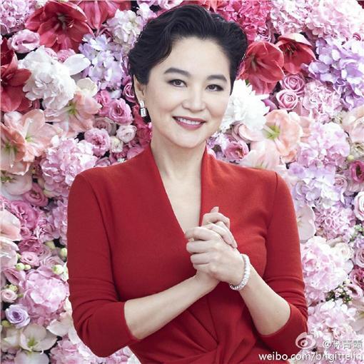 邢嘉倩,林青霞(翻攝微博)