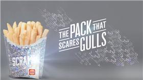 海鷗,薯條,雷射包裝盒(Hungry Jack's YouTube)