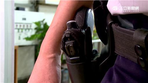 -警察佩槍-手槍-員警-開槍-執法過當-