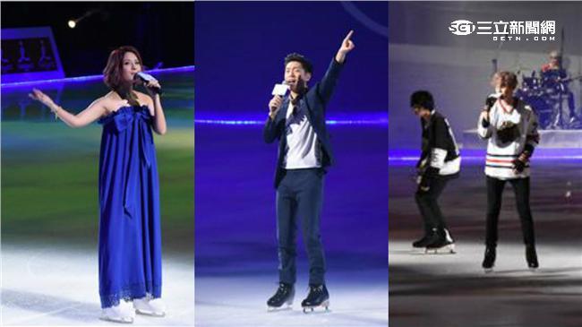 韋禮安、郭靜、八三夭冰上演出獲好評