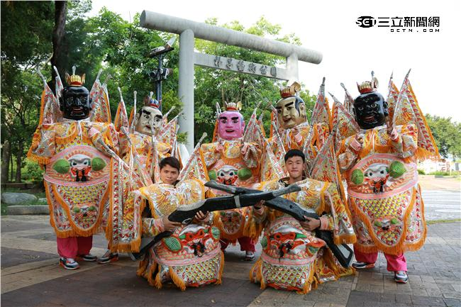 宗教界的台灣之光 囝仔神仙三太子