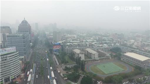 -天氣-空汙-PM2.5-細懸浮微粒-空氣品質-台中-