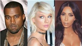 泰勒絲,Taylor Swift,肯伊威斯特,Kanye West,金卡達夏,Kim Kardashian/twitter